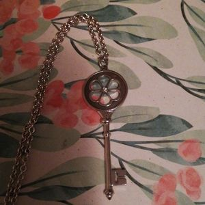 Authentic Tiffany & Co. Key and chian